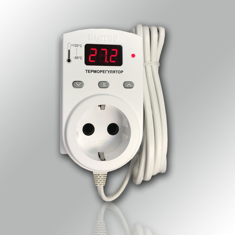терморегулятор в розетку digitop